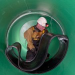 PMP Utilities, specialists in confined space and rope access regulations, risk assessments and methods Amex-10 seal