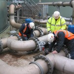 PMP Utilities, specialists in confined space and rope access regulations, Syngenta Tanks at Deighton