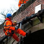 PMP Utilities, specialists in confined space, Fixing a burst pipe on Lloyd Bridge