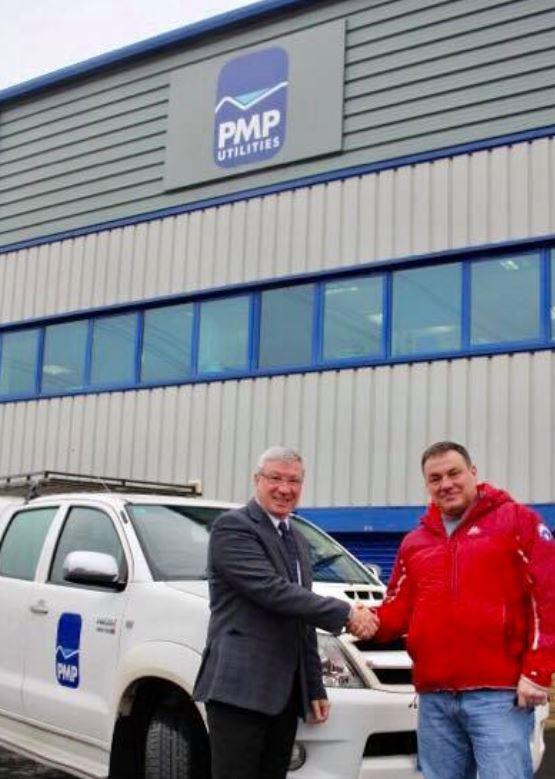 PMP Utilities vehicle handover
