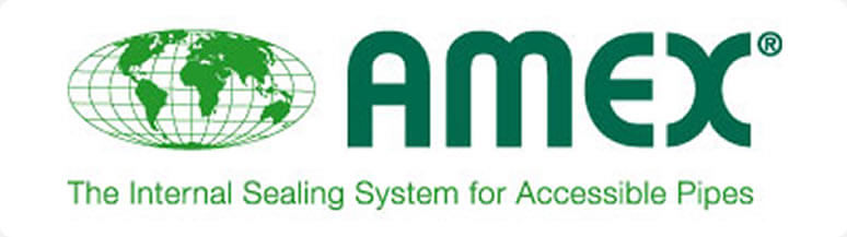 PMP Utilities AMEX Internal sealing system for accessible pipes