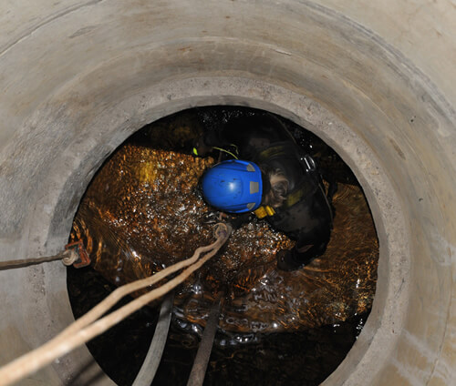 PMP Utilities Bespoke Engineering, specialists in confined space and rope access regulations, risk assessments and methods