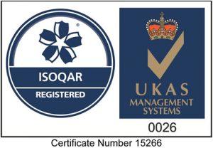 ISOQAR & UKAS Certified